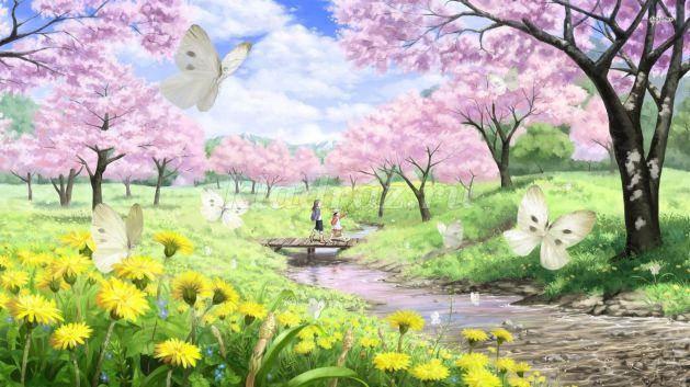 Пишу сочинение картинки весны