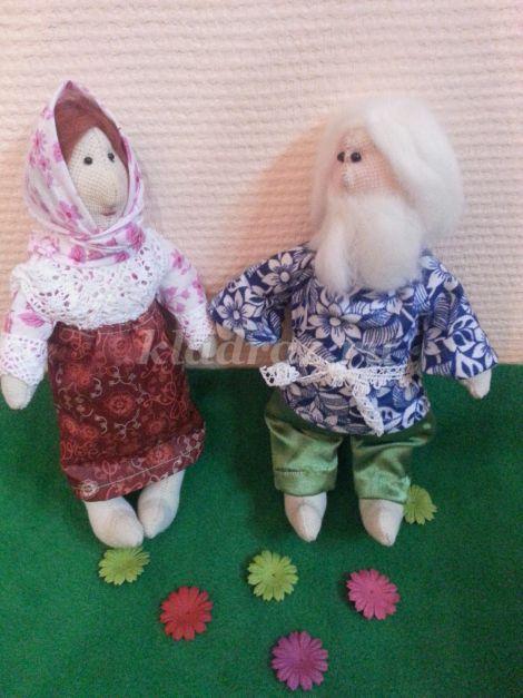 Куклы дедушка своими руками