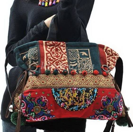 Сшить сумку в стиле бохо