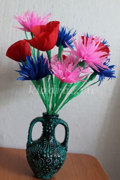 Полевые цветы своими руками фото 979