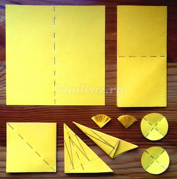 Объёмные цветы из бумаги схемы шаблоны