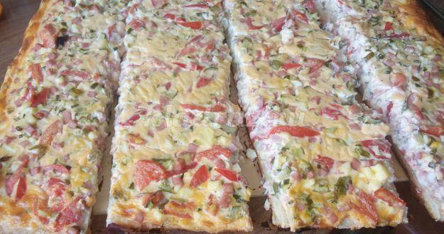 рецепт приготовления пиццы в духовке в домашних