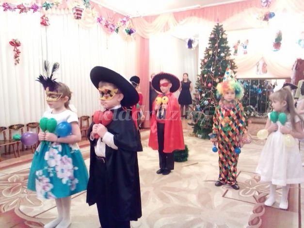 Сценарий детский спектакль в детском саду