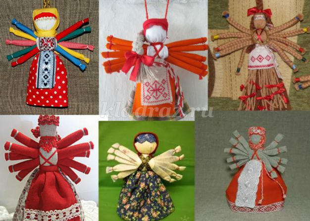 Обереговая кукла Десятиручка своими руками