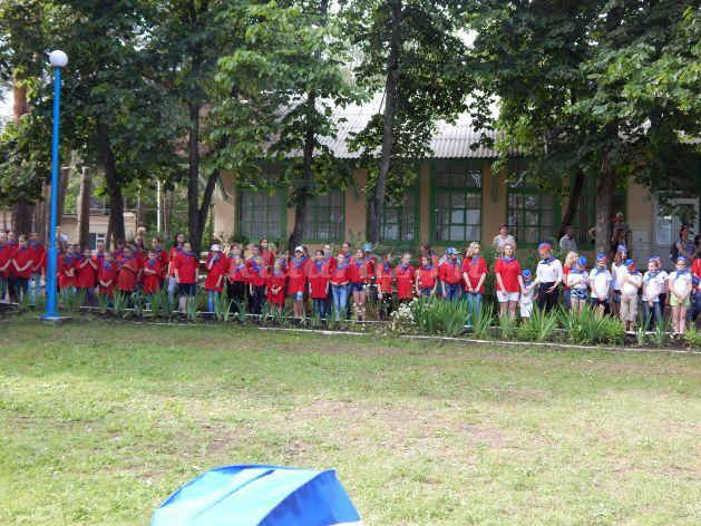 праздник в летнем лагере давайте познакомимся