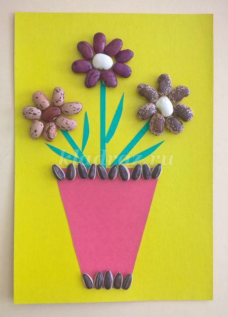 Поделки цветы из подручных средств 65