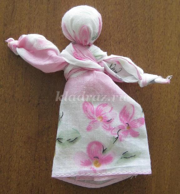Кукла из платка своими руками мастер класс 61