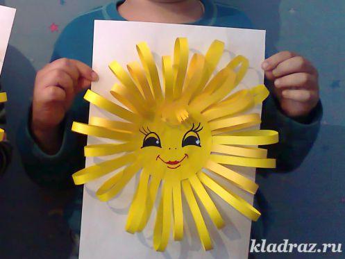 Поделки солнце в руках 864