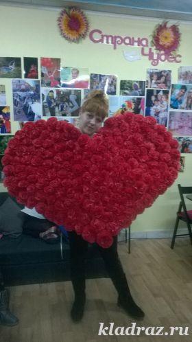 Валентинки своими руками Цветы жизни