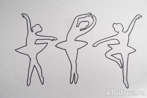 Снежинка балерина из бумаги своими руками фото фото 234